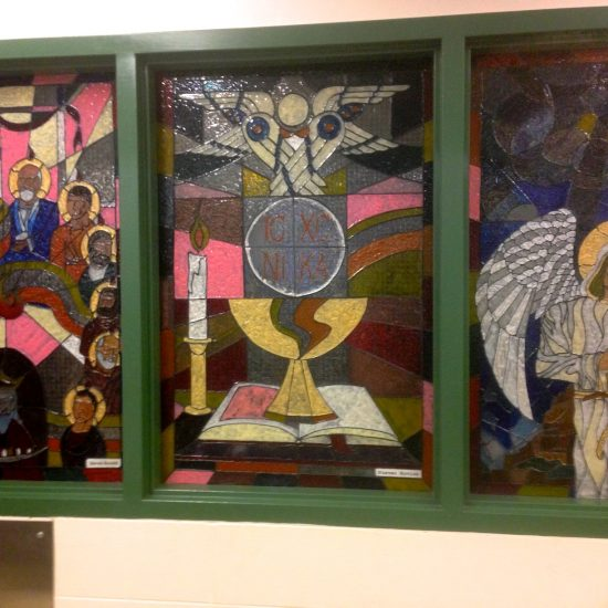 Artist: Steven Kovick / Stained Glass – 3 panels