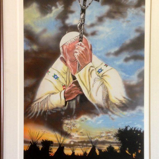 Artist: E. Alexis/Pope John Paul