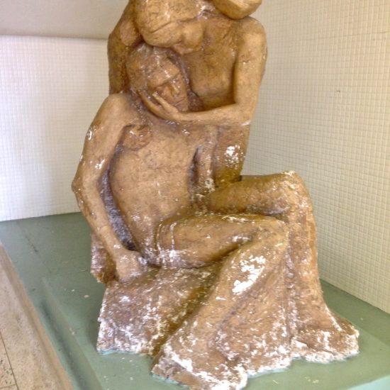 "Artist: Antonio Alves / ""La Pieta"" sculpture /Hydroculture"