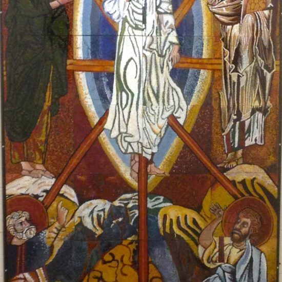 "Artists: Collaboration between staff & students/ Icon ""The Transfiguration"" /Blessed"
