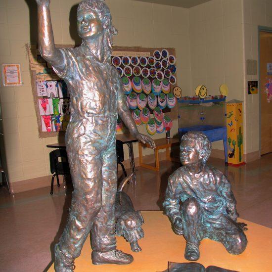 Artist: Barbara Patterson/Bronze (est. value $45,000)