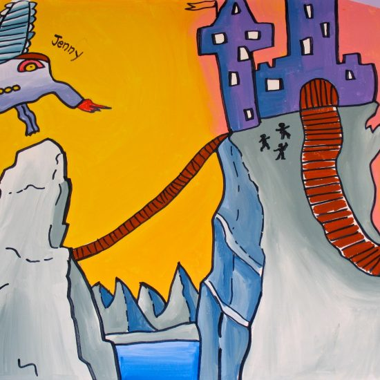 Artist: Theodora Harasymiw – 2 Murals/Acrylics (value: $10,000)
