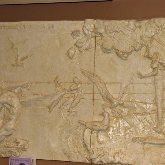 "Artist: Danek Mozdzenski/""The Three Miracles of St. Richard""/Mural/Hydroclore (value unknown)"