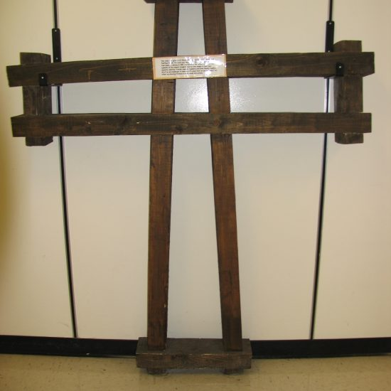 Artists: St. Matthew Parish Team/Wooden Cross (donation)