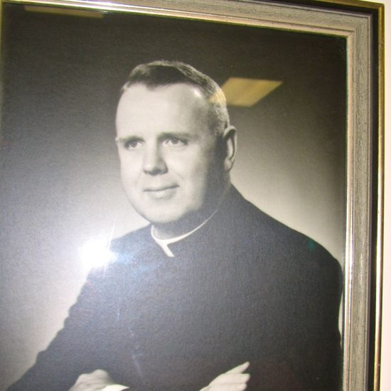 "Artifact: Portrait ""Monsignor Fee Otterson"""