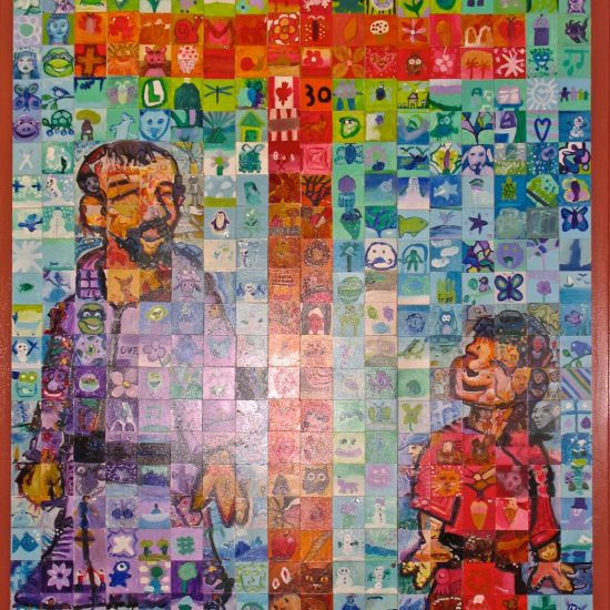 Artist: Students & Mural Mosaics/ Handpainted Tiles (value unknown)