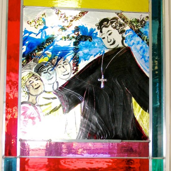 Artist: Brenda Malkinson/Stained Glass Panels (value $11,543)