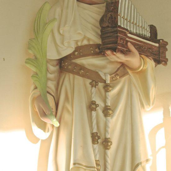 Artifact: St. Cecilia Statue