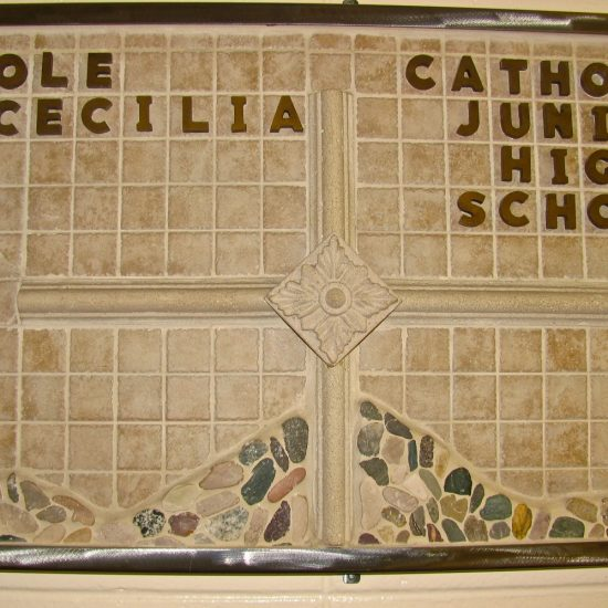 Artists: Staff/Mosaic, Tile, Stone Plaques (value unknown)