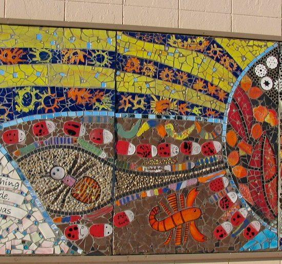 "Artist: Debra Bryan/""Genesis""/Mural/Mosaics (value $25,000)"