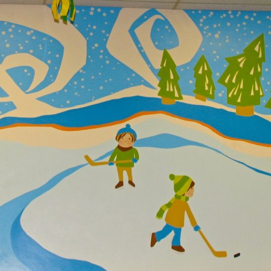 Artist: Heidi Devlin/2 Murals/Acrylics (value $3,600)