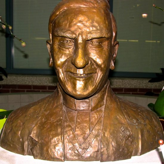 """Artist: Unknown/""""Father Troy""""/Bronze Bust (value: $25,000)"""