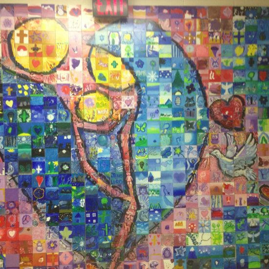 Artists: Mural Mosaics & Students/Ceramic Tiles (value unknown)