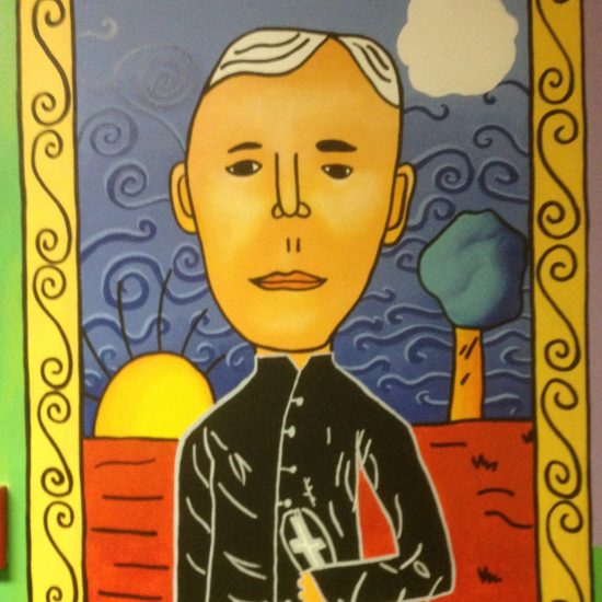 Artist: Theodora Harasymiw / 2 Murals / Acrylics  ( value est. $15,000 )