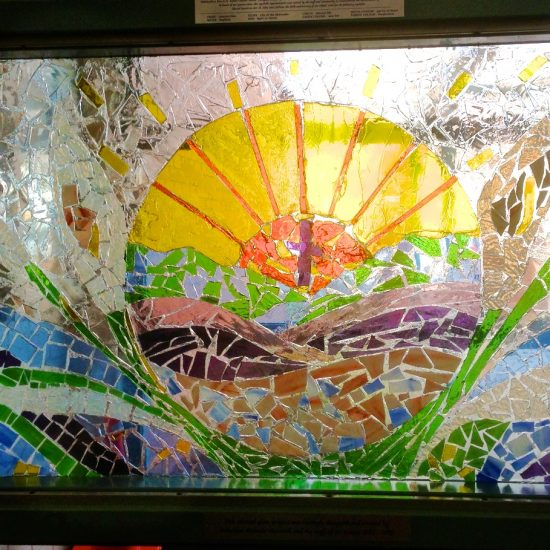 Artist: Melanie Mazurek/Stained Glass (donation)