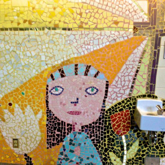 Artist: Theodora Harasymiw/Mural/Mosaics (value $11,250)