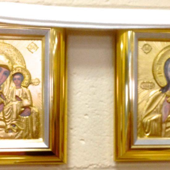Artist: Unknown/2 Icons (Greek origin) (donation)