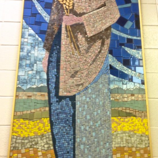 Artist: Don Pimm / Mosaic Mural (value unknown)