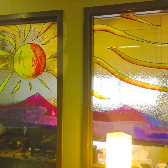 Artist: Melanie Mazurek/Stained Glass (value unknown)