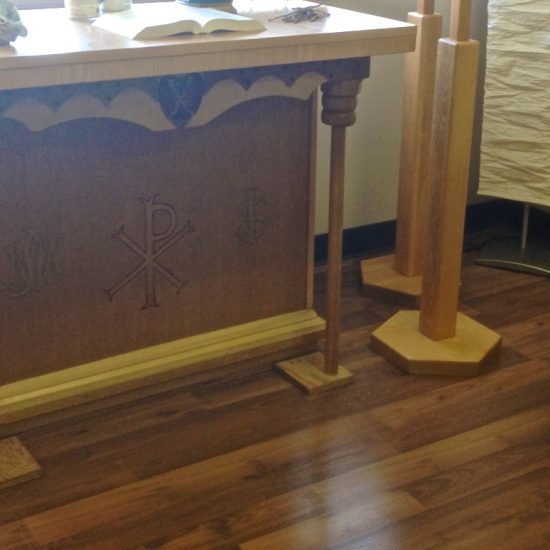 Artist: Unknown/Wooden Altar (donation from St. Pius Church)