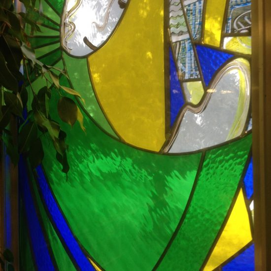Artist: Brenda Malkinson/Stained Glass (value unknown)