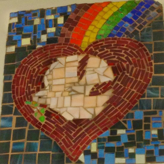 Artists: Grade 9 IB students under guidance of Mrs. Trpin/Mosaics
