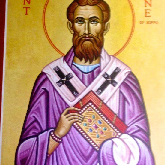 "Iconographer: Unknown/ ""St. Augustine""/Icon"